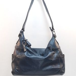 💙 Fossil Leather Hobo Bag
